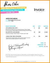 Designer Invoice Graphic Design Invoice Interior Design Invoice ...