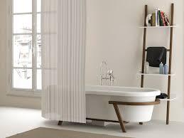 Bathroom Book Rack Bathroom White Wooden Door Small Rectangular Bathtub And Tap