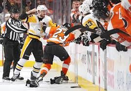 flyers vs penguins history for now the penguins and flyers are on track for a playoff clash