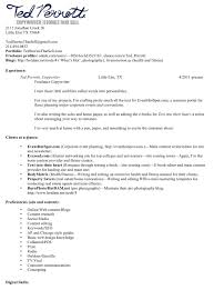 Writer Resume Examples