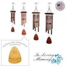 in loving memory wind chimes gift items