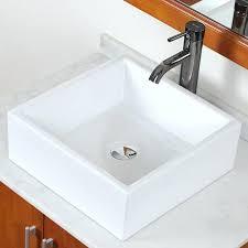 square bathroom sink buildmuscle