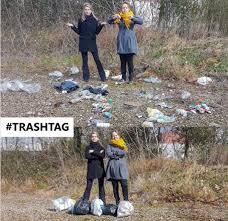 Resultado de imagen de qué es el trashtag challenge