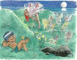 Polynesian menehune hairy fairies