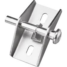 prime line zinc push pull sliding patio door lock