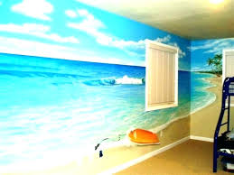 beach wall art decor themed metal arts paintings acrylic