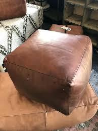 square leather ottoman square leather ottoman square leather ottoman coffee table