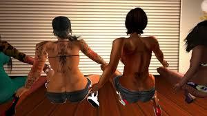 Black girls pussy poppin