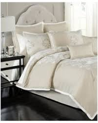 ivory queen comforter set. Plain Queen Emilia Embroidered 14Piece Queen Comforter Set  IvoryCream In Ivory
