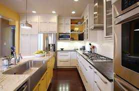 ... Kitchen Kitchen With Dining Area Styles White Painted Kitchen Cabinets  For A Brilliant Room Painted Kitchen ...