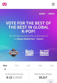 Vote For Got7 On Mnet Global Fans Choice Got7 Amino