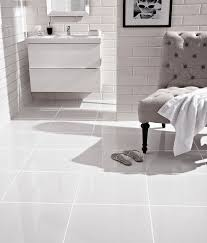 white floor tiles.  White Pure White Tile To Floor Tiles L