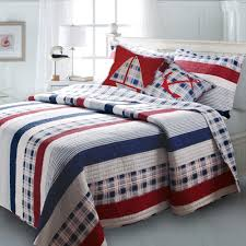 image of nautical bedspreads lighthouse