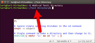 Create A Directory How To Make A New Directory And Change To It With A Single