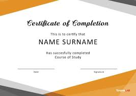 Microsoft Office Training Certificate Certificate Of Attendance Template Word Sample Perfect Free
