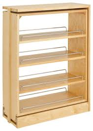 3 base filler pullout pantry and
