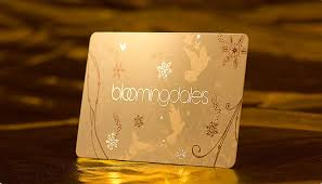 giftcard from bloomingdales with hotst