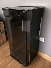 unparalleled tinted glass door hi fi cabinet black with tinted glass door storage for record