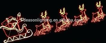 unique reindeer and sleigh outdoor lights and elegant reindeer and sleigh outdoor lights for reindeer and