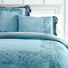 duvet cover embroidered embroidered bamboo duvet cover set