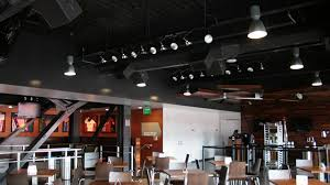 open ceiling lighting. However, The Prototypical Modern Restaurant Seems To Want Transparency Rather Than Mystery. An Open Design In A Sets Social Mood. Ceiling Lighting
