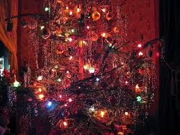 Old Fashioned Christmas Tree Light Bulbs Old Fashioned Christmas Tree 1940s Style Oldhouseguy Blog