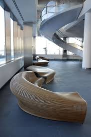interesting office lobby furniture. Futuristic Hotel Lobby Furniture With Sectional Brown Sofa Plus Spiral  Stair Glass Balustrade Large Size Interesting Office Lobby Furniture L