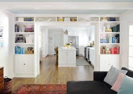 Adding BuiltIn Bookshelves Around Our Living Room Doorway Young Gorgeous Bookshelves Living Room Model