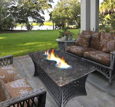 popular of coffee table fire pit with outdoor patio table with propane fire pit modern patio amp outdoor