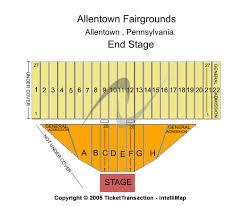 Allentown Fair Grandstand Seating Chart 72 Credible Bloomsburg Fair Seating Chart