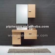 modern 100 cm bamboo wall mounted