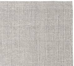 chunky wool jute rug gray pottery barn within grey plans