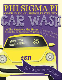 Flyers For Fundraising Events Soap Suds And Fundraising Phi Sigma Pi National Honor Fraternity