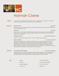 hannah crane future rdh resume