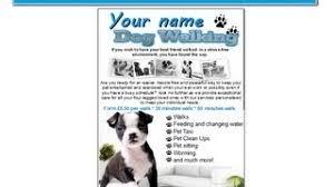 Cheap Marketing Leaflets, find Marketing Leaflets deals on line at ... Get Quotations · dog walking flyer leaflets templates