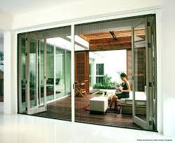 brilliant patio wall door outdoor accordion doors folding glass exterior bi fold patio sliding custom inside d