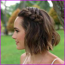 Coiffure Cheveux Mi Long Visage Carré Invitée Mariage 283320