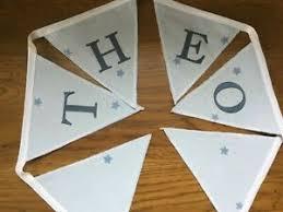 BLUE SPARKLY STARS NEW PERSONALISED HANDMADE CHILD/NURSEREY LAURA ASHLEY  BUNTING | eBay