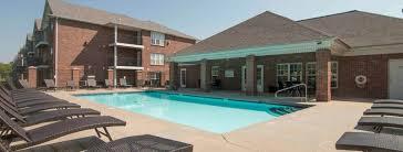 Swimming Pool At Williamsburg Park Apartments In Lincoln NE