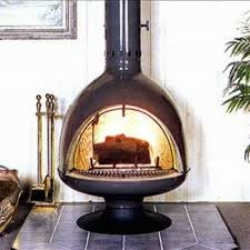 Malm Fireplaces FD3 Fire Drum 3 Freestanding Woodburning Fireplace Unit  with Screen