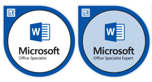 Micorsoft Office Word Microsoft Word Classes Mos Mos Expert Certification At