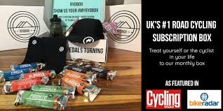 rydbox get the world s best gifts for cyclists a cycling subscription box
