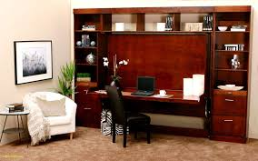 office bed. Excellent Brown Wooden Wall Bed Desk Bo And Laptop Table Feat Book Racks Also Black Upholstery Office