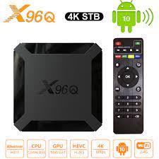 X96Q Smart Android 10.0 TV BOX 2GB RAM 16GB ROM Allwinner H313 Media Player  2.4G wifi 4K HD Set Top Box 1GB 8GB vs X96 Mini|Set-top Boxes