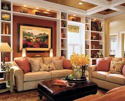 Love The Recessed Lighting, Warm Colors, Built In Book Shelves, And How  Cozy This Room Looks