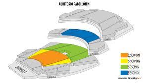 Monterrey Auditorio Pabellon M Seating Chart English