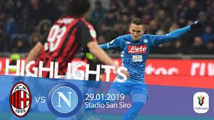 HL - Milan V Napoli 2-0 Coppa Italia