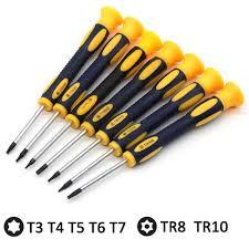T8 T6 T10 Torx Screwdriver <b>Set</b> Tool Kit Spudger Prying Repair Tool ...