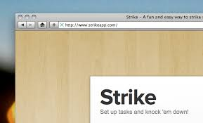 simple todo strike a super simple to do list living in your browser