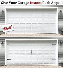 giuve your garage door instant curb appeal